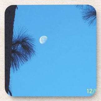 luna de la luz del día posavasos