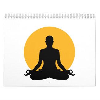 Luna de la meditación calendario
