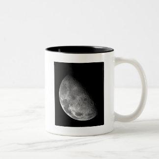 Luna de la misión espacial planetaria de Galileo Taza De Dos Tonos