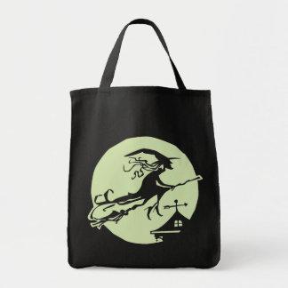 Luna de la paleta de la bruja bolsa tela para la compra