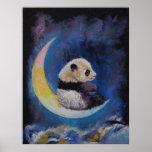 Luna de la panda póster