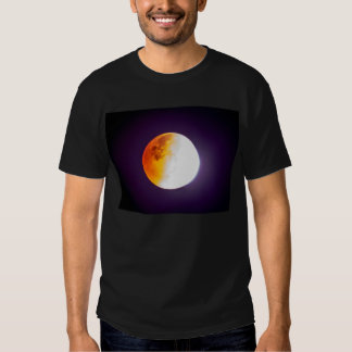 Luna de la sangre/eclipse lunar playera