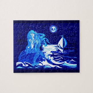 Luna de la sirena puzzle