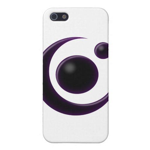 Luna de la sombra iPhone 5 carcasas