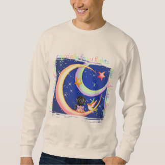 Luna de lujo cosquilleada del Faery del arte del Jersey