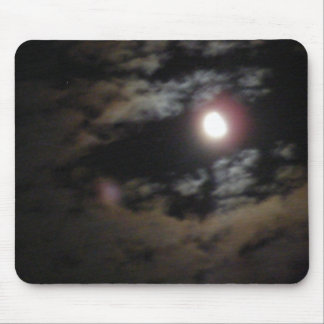 Luna de medianoche mouse pad