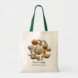 Luna de miel de la playa bolsa de mano