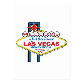 Luna de miel de Las Vegas Postales