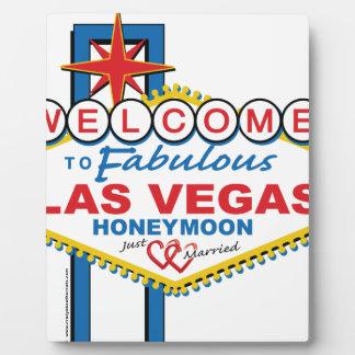 Luna de miel de Las Vegas retra