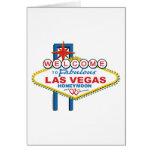 Luna de miel de Las Vegas Tarjetón