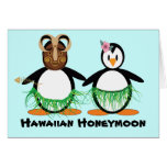 Luna de miel hawaiana felicitaciones