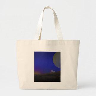 Luna de oro bolsa tela grande