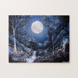 Luna del bosque puzzle