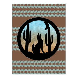 Luna del coyote postal