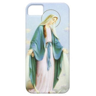 Luna del creciente del Virgen María iPhone 5 Funda