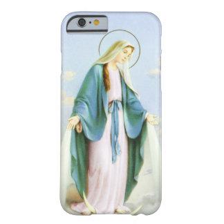 Luna del creciente del Virgen María Funda De iPhone 6 Slim