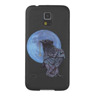 Luna del cuervo fundas para galaxy s5
