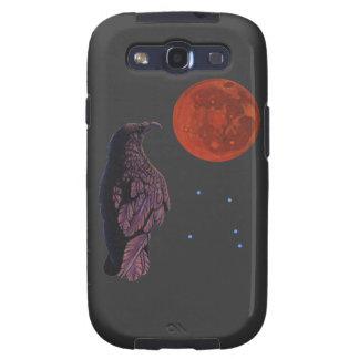 Luna del cuervo samsung galaxy s3 funda