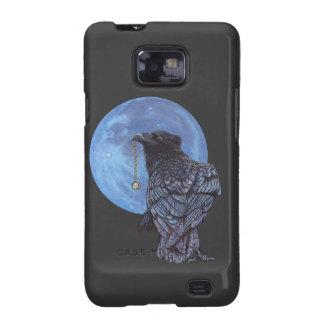 Luna del cuervo galaxy s2 carcasa