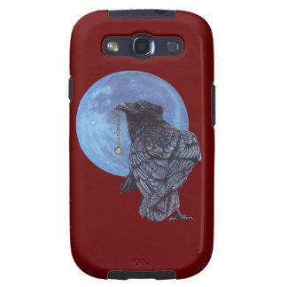 Luna del cuervo galaxy SIII cárcasa