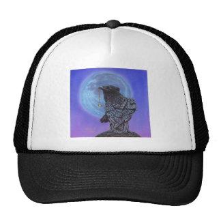 Luna del cuervo gorro de camionero