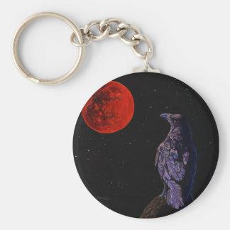 Luna del cuervo llaveros