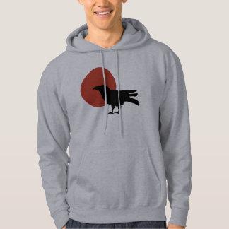 Luna del cuervo sudadera pullover