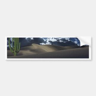 Luna del desierto pegatina para auto