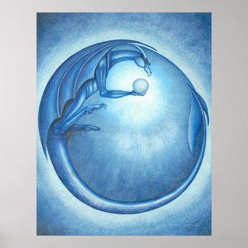 Luna del dragón impresiones
