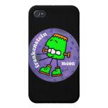 luna del frankenstein iPhone 4 protectores