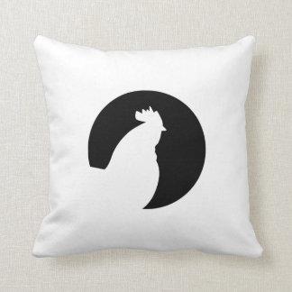 Luna del gallo cojines
