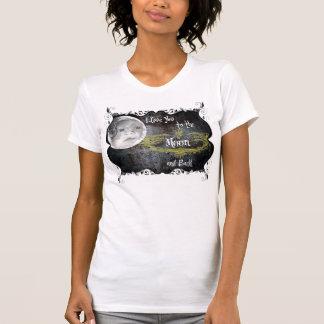 luna del izzie camisetas