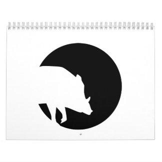Luna del jabalí calendario