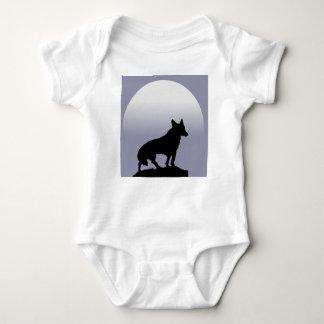 Luna del lobo body para bebé