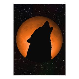 Luna del lobo fotografía