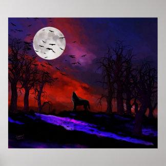 Luna del lobo póster
