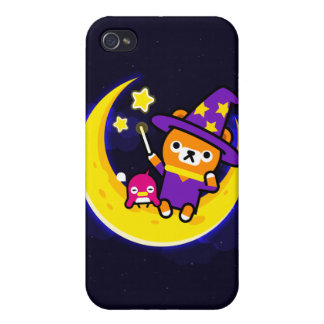 Luna del oso de Tappi iPhone 4 Carcasas