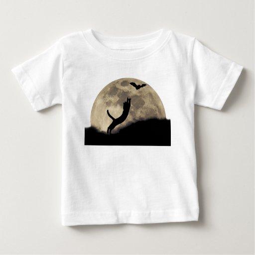 Luna del palo del gato playeras