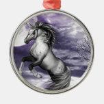Luna del unicornio ornamento de reyes magos