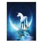 Luna del unicornio postales