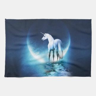 Luna del unicornio toallas