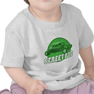 luna del verde de la barra de la calle camisetas