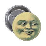 Luna del vintage pin