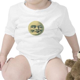 Luna del vintage trajes de bebé