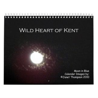 Luna en el azul, Kent Co. NOTA Calendario