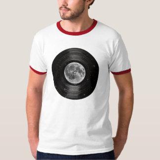Luna en el expediente de LP del vinilo del espacio Playera