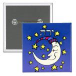 Luna en hebreo pin
