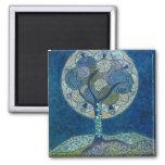 luna en imán de la floración (pintura)