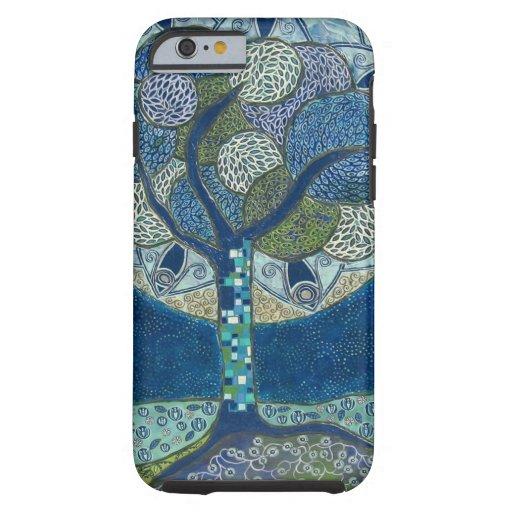 Luna en la floración (pintura) funda de iPhone 6 tough