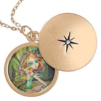 Luna Fairy Forest Fantasy Big Eyed Necklace